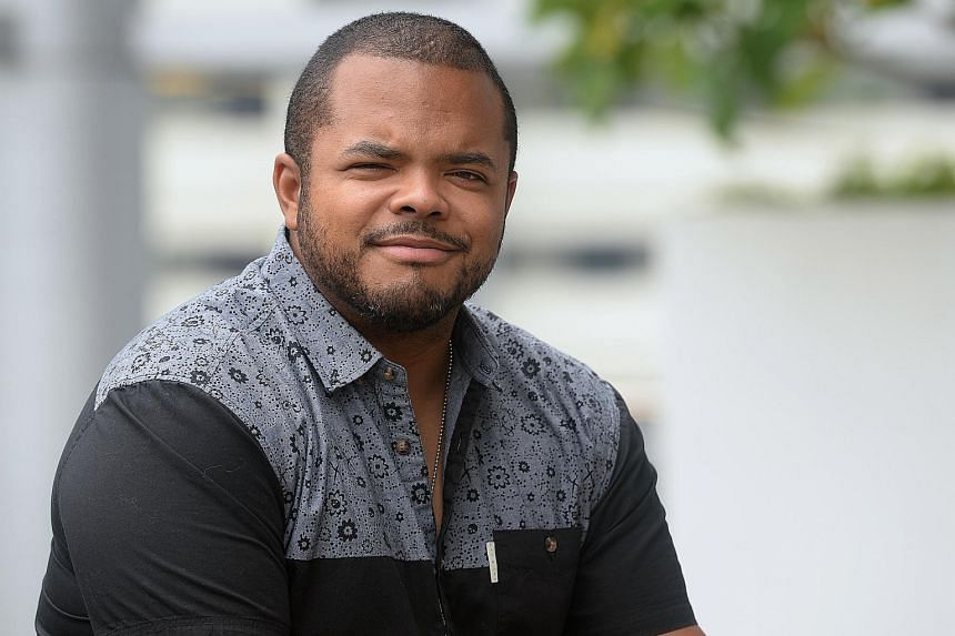 The first dish chef Roger Mooking (above) learnt to make was wontons.