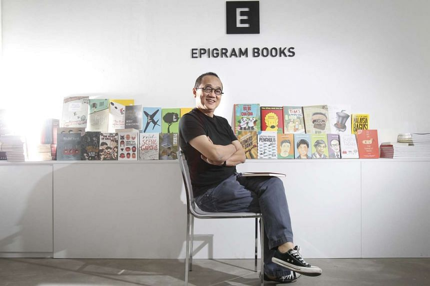 Edmund Wee, founder of Epigram Books.