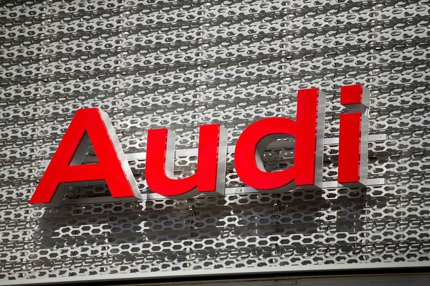 Am Audi dealership in Chicago, Illinois, on Sept 22, 2015