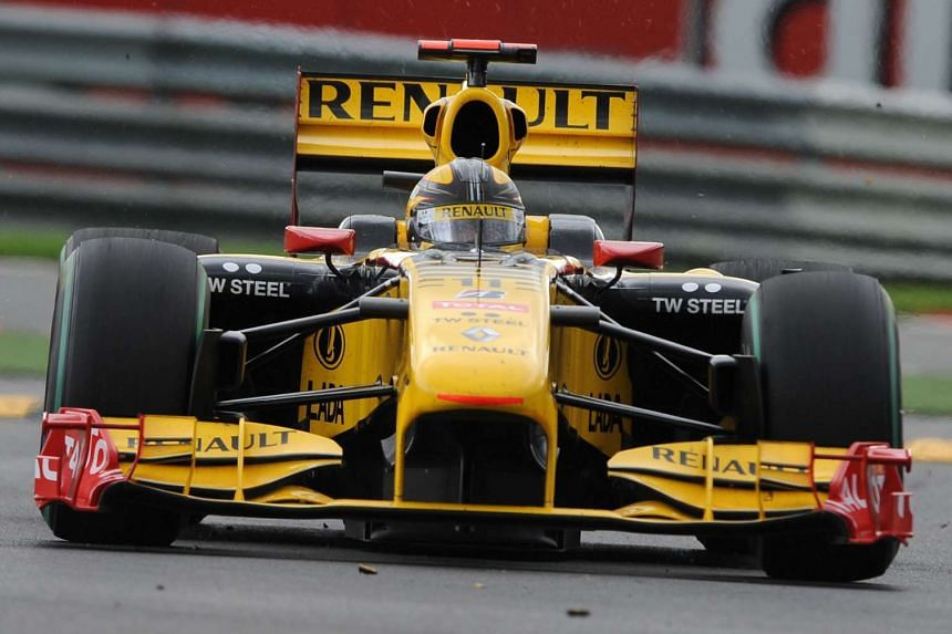 Renault at the 2010 Formula One Belgian Grand Prix. They have signed a letter of intent to take a controlling stake in the cash-strapped Lotus Formula One team, the company said on Monday.
