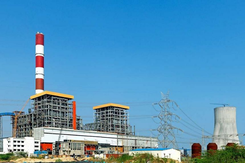 A file picture of a Semcorp project in the coastal town of Krishnapatnam, Nellore in Andhra Pradesh. Other than Bangladesh, Sembcorp Industries has also recently fully completed its first coal-fired power project in India in mid September. PHOTO: SEM