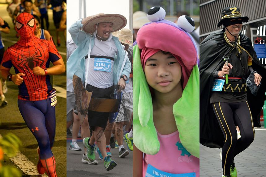 Some participants came dressed in wacky costumes, including characters like Spider-Man and Zorro. There were 5km, 10km and 18.45km races.