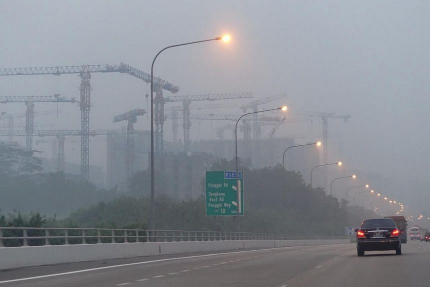 The hazy outlook and traffic along the TPE.