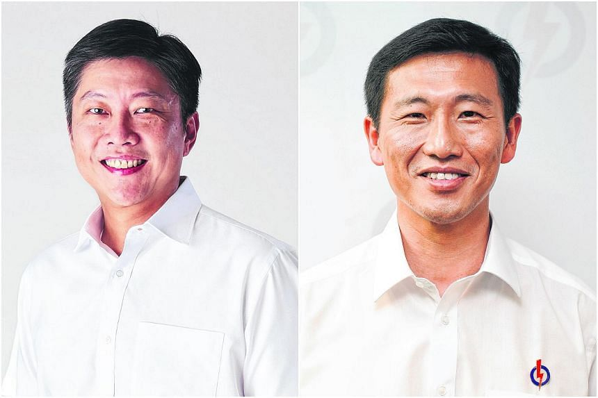 Newly elected Ng Chee Meng (left) and Ong Ye Kung will be Acting Ministers for the Ministry of Education.