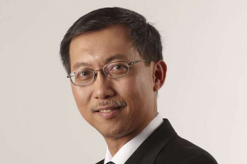 Mr Ng Kok Siong will replace Mr Chin Phei Chen(above) as chief executive of the Sino-Singapore Guangzhou Knowledge City on Oct 15.