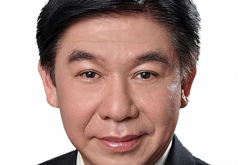 Mr Ng Kok Siong (above) will replace Mr Chin Phei Chen as chief executive of the Sino-Singapore Guangzhou Knowledge City on Oct 15.
