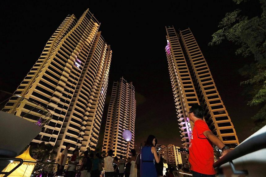 D'Leedon (above) is among the top-selling luxury condominium projects in the primary market so far this year. The others include Leedon Residence and Palms @ Sixth Avenue.