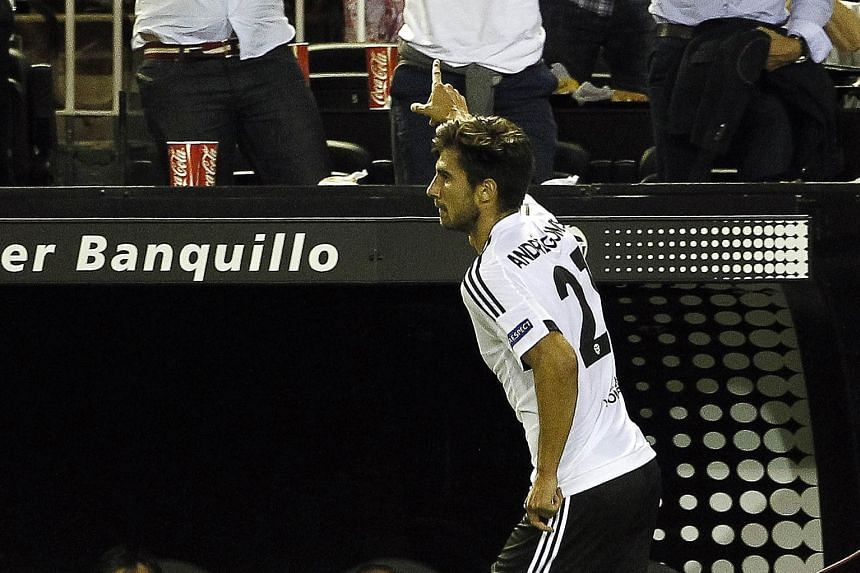 Valencia, who signed midfielder Andre Gomes from Benfica, has had a slow start this season. But they beat Granada 1-0 on Saturday and will be in good spirits when they take on Lyon in the Champions League tonight.