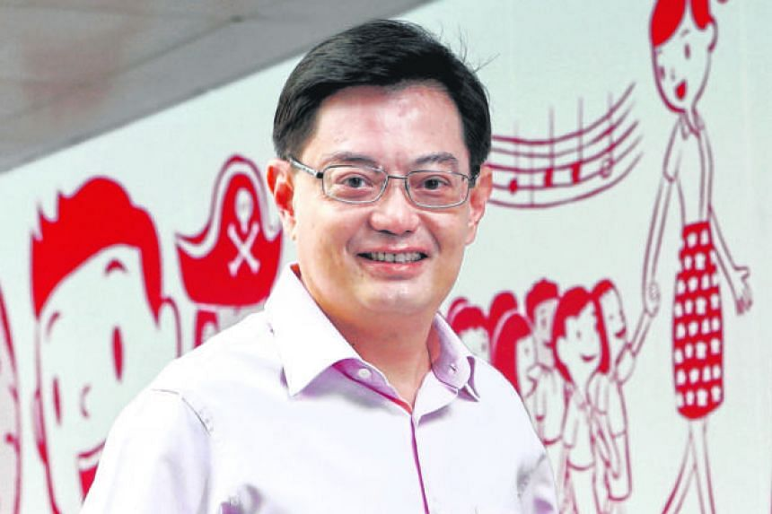Mr Heng Swee Keat, 54, will leave his education portfolio to take over the Finance Ministry.
