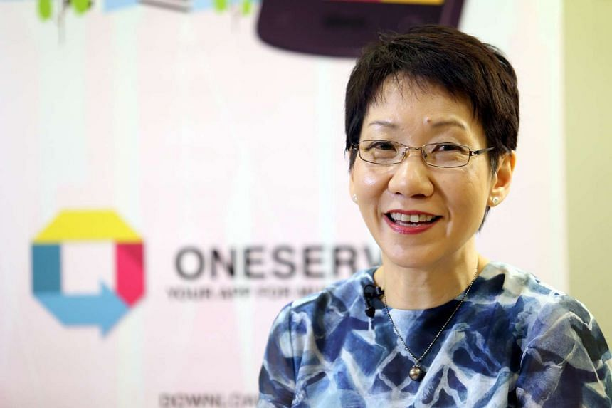 Ms Grace Fu, then Minister in the Prime Minister's Office, launched the OneService feedback app in Jan 2015.