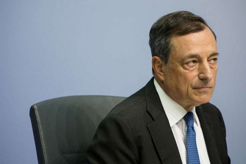 ECB President Mario Draghi said this month that the central bank is ready to expand its quantitative-easing program if a decline in oil prices and a slowdown in emerging markets were to worsen the inflation outlook.