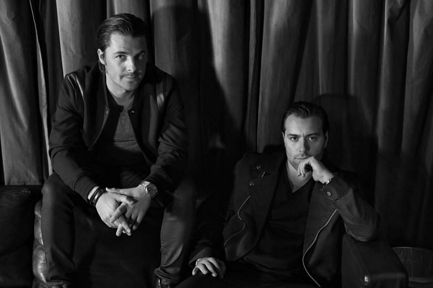 Swedish dance music duo Axwell and Ingrosso say fans can expect a full-blown show with new music.