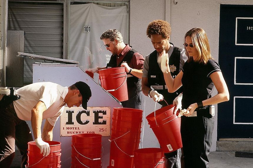 In 2000 when the series began, delving into the nitty-gritty of forensic science on TV was an alien concept.