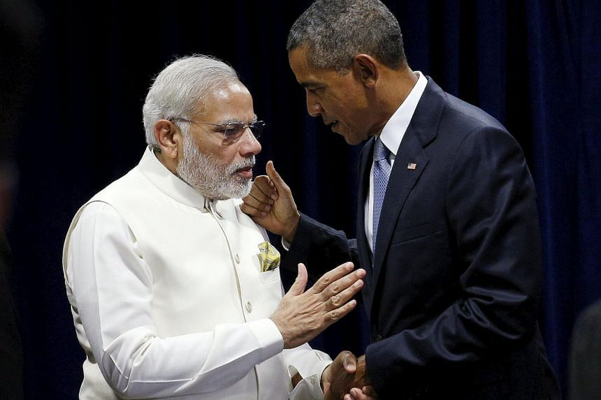 Mr Narendra Modi said he and Mr Barack Obama were committed to fighting climate change without hurting development.