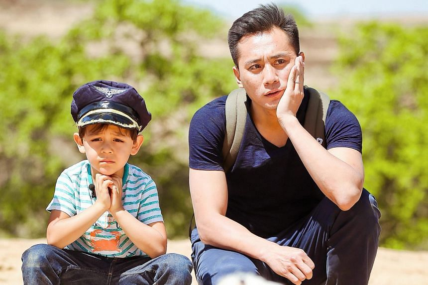 Actor Liu Ye and his son Noe appear in the third season of Where Are We Going, Dad.