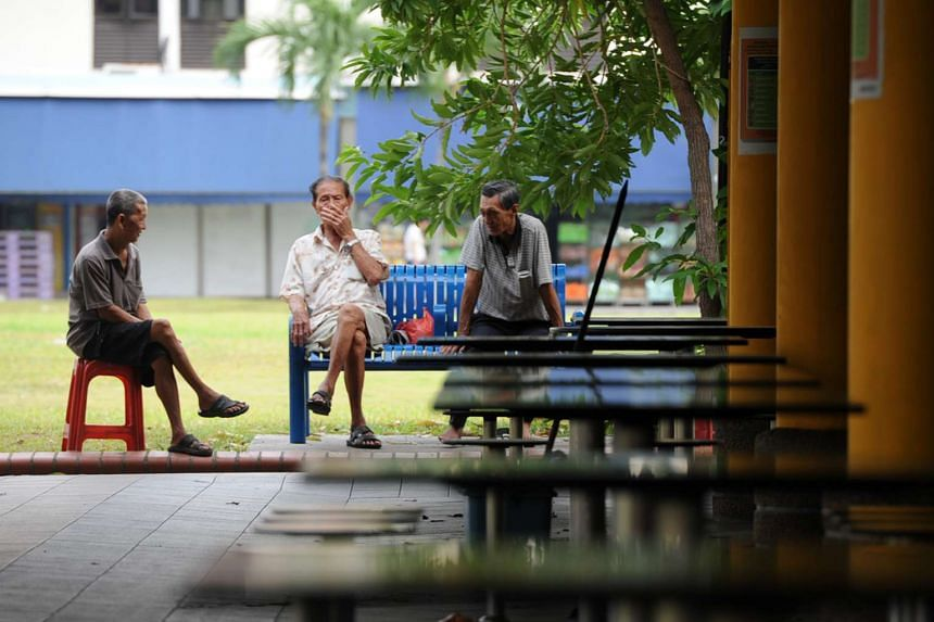 Elderly people aged 65 and older form 13.1 per cent of the citizen population as of June 2015, according to a report released by the National Population and Talent Division on Sept 30, 2015.