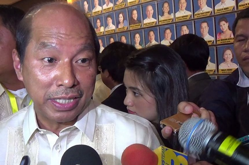 """Philippine anti-graft agency Ombudsman is investigating Budget Secretary Florencio """"Butch"""" Abad (above) and his deputy Mario Relampagos over """"technical malversation and administrative charges""""."""