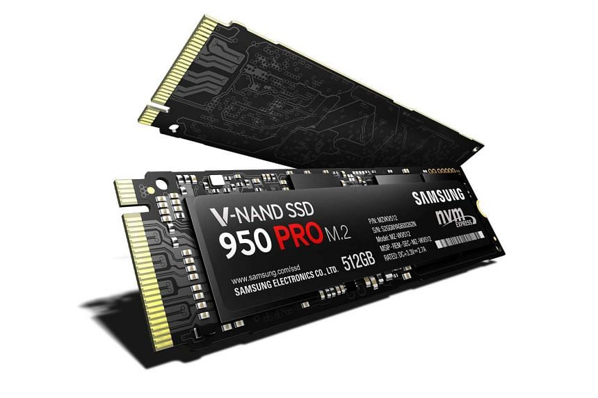 The 950 Pro series of Samsung's solid-state drives has a read speed of up to 2,500 MBps (megabytes per second) and write speeds of up to 1,500 MBps. These specifications are over four times faster than those of last year's 850 Pro models.