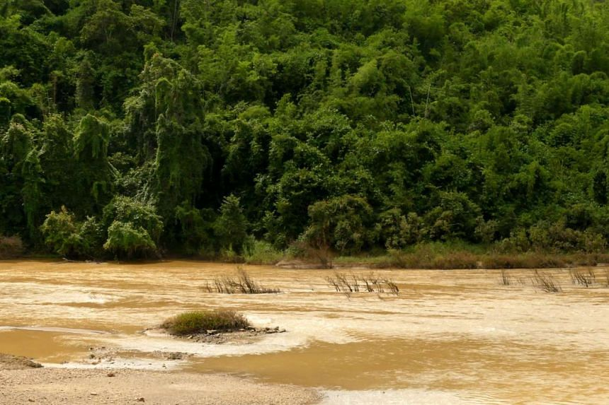 Swollen river: The jungles of Tanintharyi are part of South-east Asia's last major wilderness, contiguous with Thailand's Western Forest Complex.