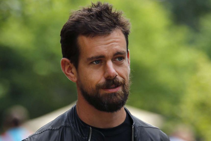 Jack Dorsey, interim CEO of Twitter and CEO of Square, goes for a walk on the first day of the annual Allen and Co. media conference in Sun Valley, Idaho July 8, 2015.