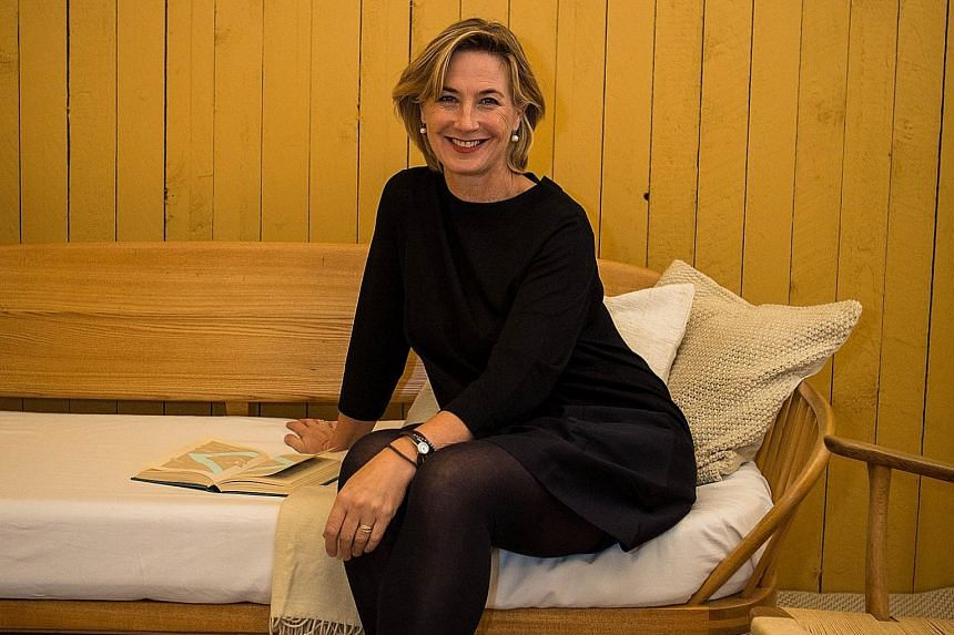 Ms Heleen van Gent, head of AkzoNobel Global Aesthetic Center, says monarch gold, the colour for next year, is a gold-influenced ochre which is bright enough to attract attention yet combines well with other tones.