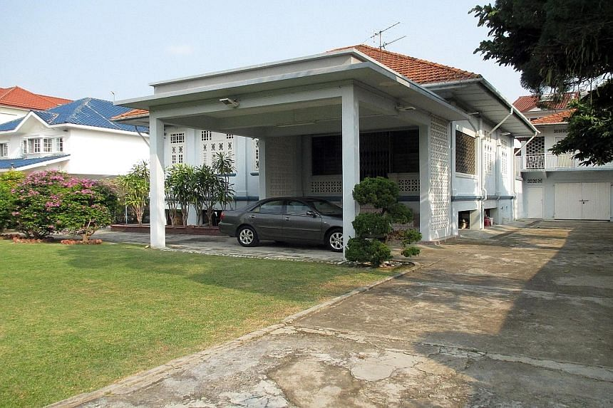 The single-storey bungalow at 25 Branksome Road in Tanjong Katong was bought by a Singaporean.