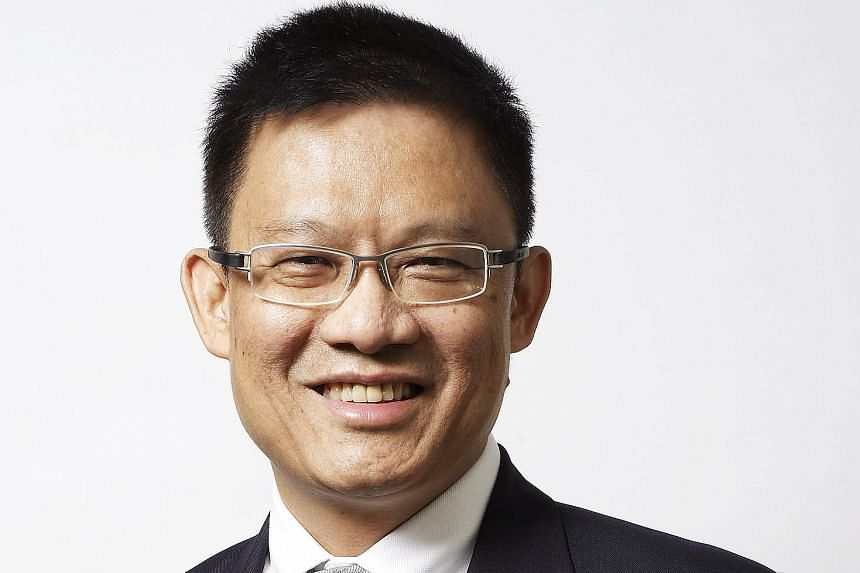 Aerospace and defence conglomerate ST Engineering's Mr Vincent Chong Sy Feng (left, above) will take over the top job when president and chief executive Tan Pheng Hock retires in about a year's time.