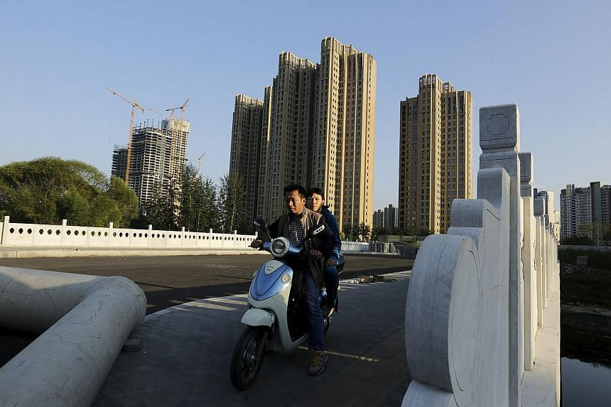 China's property sector has hit a weak patch in the last year or so, with slowing sales leading to an overhang of unsold apartments and affecting demand for everything from steel to home appliances and furniture.