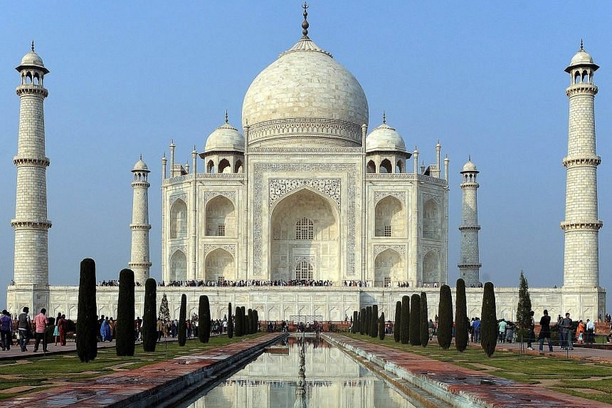 The Taj Mahal is India's top tourist attraction. It was built by Mughal emperor Shah Jahan in the 17th century as a tomb for his beloved wife Mumtaz Mahal, who died while giving birth.
