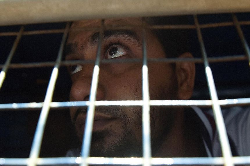 An Indian prisoner convicted of involvement in the 2006 train blasts on his way to a special court in Mumbai. Seven blasts ripped through commuter trains in Mumbai nine years ago in one of the country's deadliest terror attacks.
