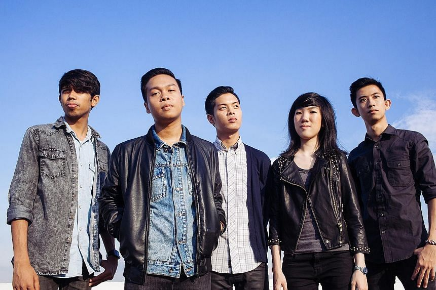 Pop-rock band The Summer State (above) and rapper Shigga Shay were among musicians who took part in the Noise Singapore programme.