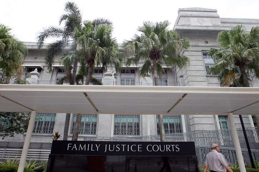 The facade of Family Justice Courts.
