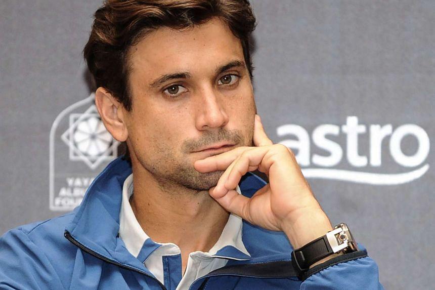 Top seed David Ferrer beat Czech Republic's Radek Stepanek in straight sets.