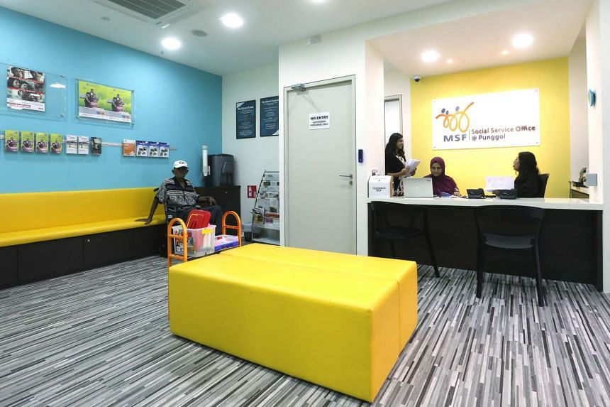 The new Social Service Office in Punggol.