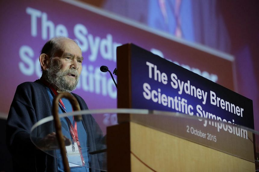 Dr Sydney Brenner, who was instrumental in setting up the Institute of Molecular and Cell Biology and helping shape research efforts, is here for an exhibition in his honour.