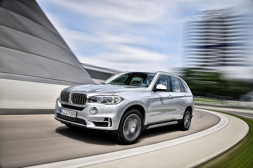 BMW's first plug-in hybrid SUV, the X5 xDrive40e, is as beefy as its petrol/diesel siblings.
