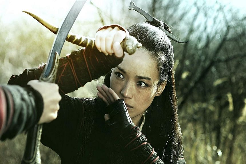 Shu Qi in the titular role of The Assassin, which is in the running for Best Feature Film, Best Leading Actress and Best Director, among other awards.