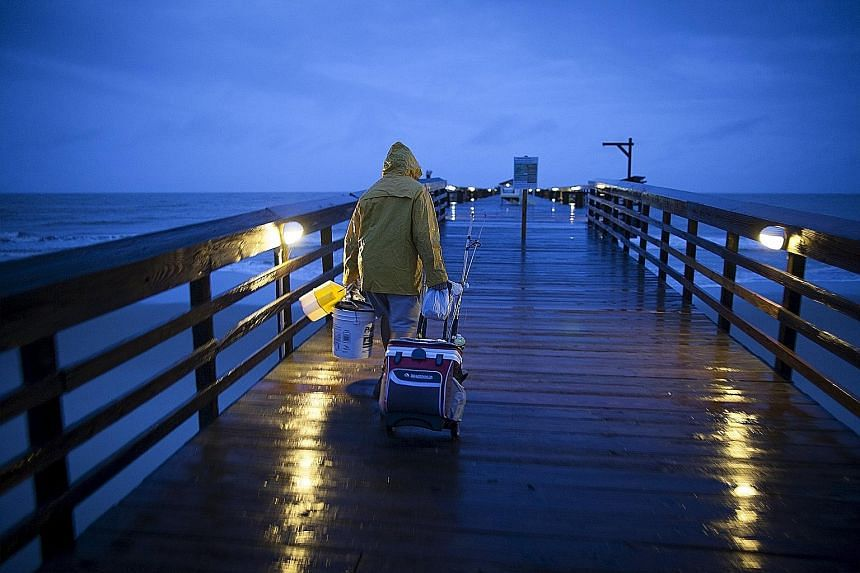 On its current path, Hurricane Joaquin, listed as Category 4, is likely to cause coastal flooding in the US mid-Atlantic region, forecasters said. Torrential rains are also likely in the Carolinas and Virginia