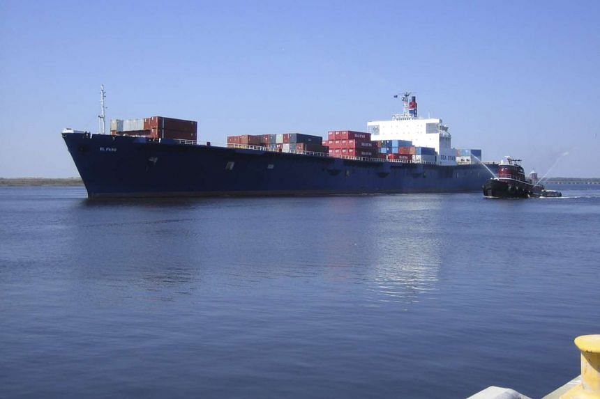 Contact with the El Faro (above) was lost early on Thursday, as Hurricane Joaquin approached the Bahamas.
