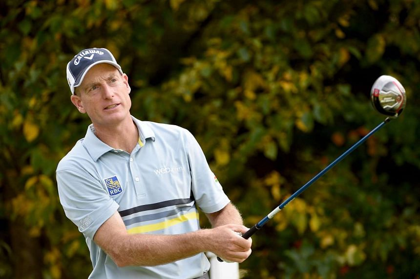Furyk (above) will still travel to South Korea as a fourth assistant to US captain Jay Haas.