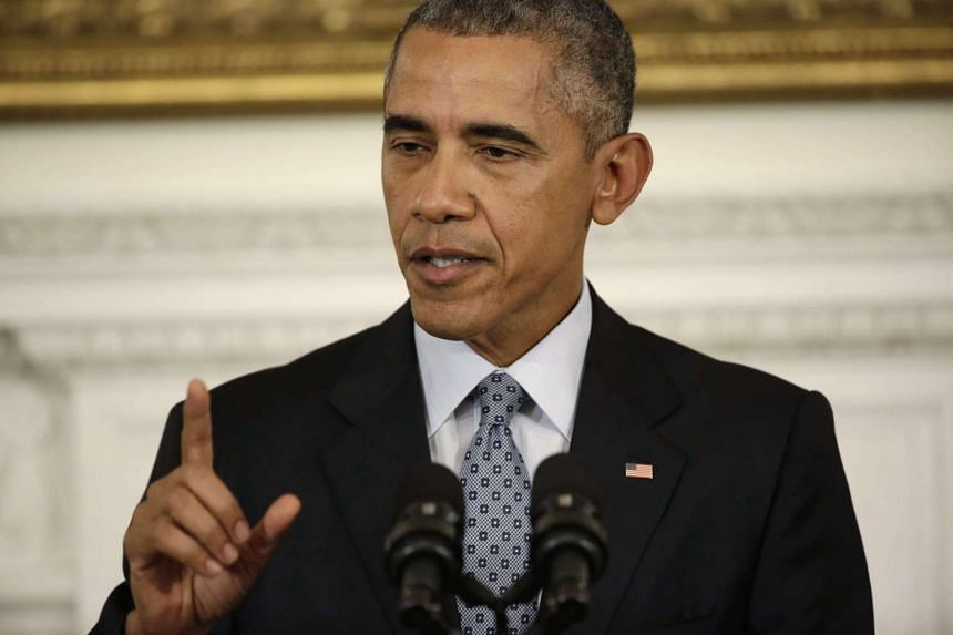 Obama signalled he was willing to engage with Russian President Vladimir Putin.