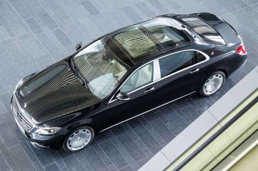 Mercedes-Maybach S-class.
