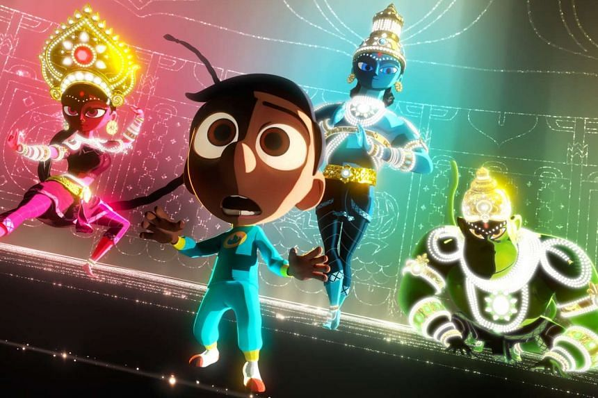Sanjay's Super Team, directed by Sanjay Patel, is inspired by the Indian-American animator's childhood.