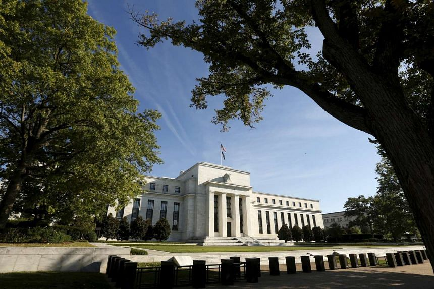 The Federal Reserve headquarters in Washington on Sept 16, 2015.