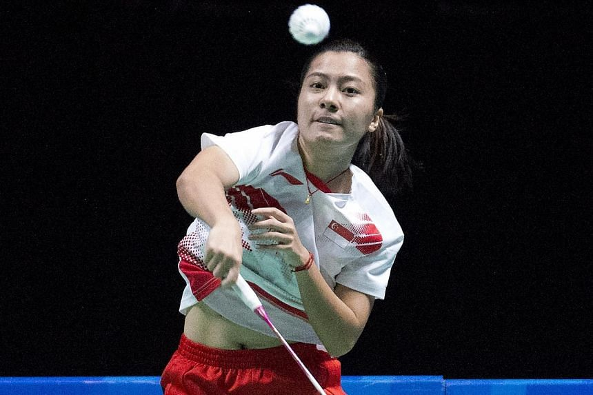 Liang Xiaoyu, seen here in the SEA Games at home in June. After upsetting the top seed and home favourite Ratchanok Intanon, she is up against second-seeded Korean Sung Ji Hyun in today's Thailand Open women's singles final.