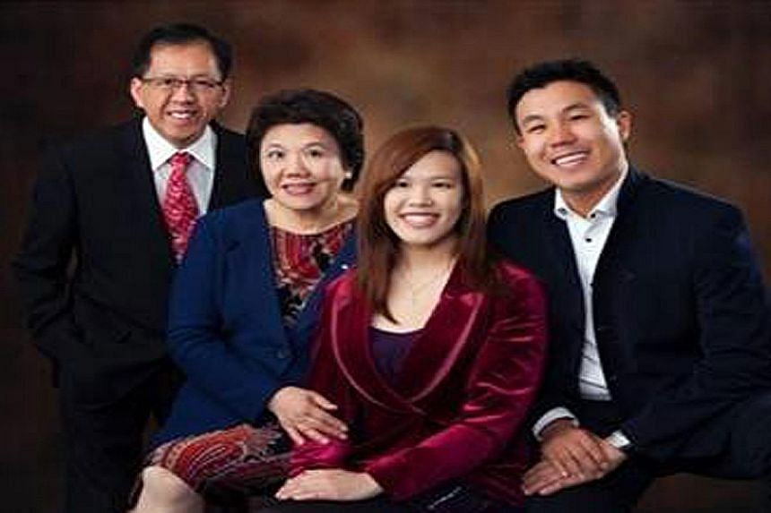 Mr Curtis Cheng (far left), seen here with his family, was well-liked at the New South Wales police division where he worked.