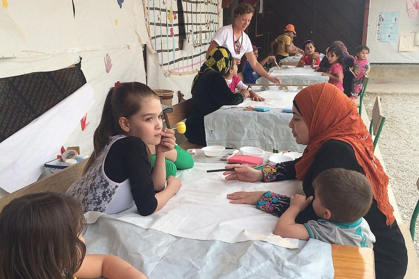 A team of 11 art therapists and volunteers from The Red Pencil completed a two-week trip to a Syrian refugee camp in Lebanon last month, where they conducted art therapy workshops for over 200 refugees, mostly children and teenagers. The charity plan