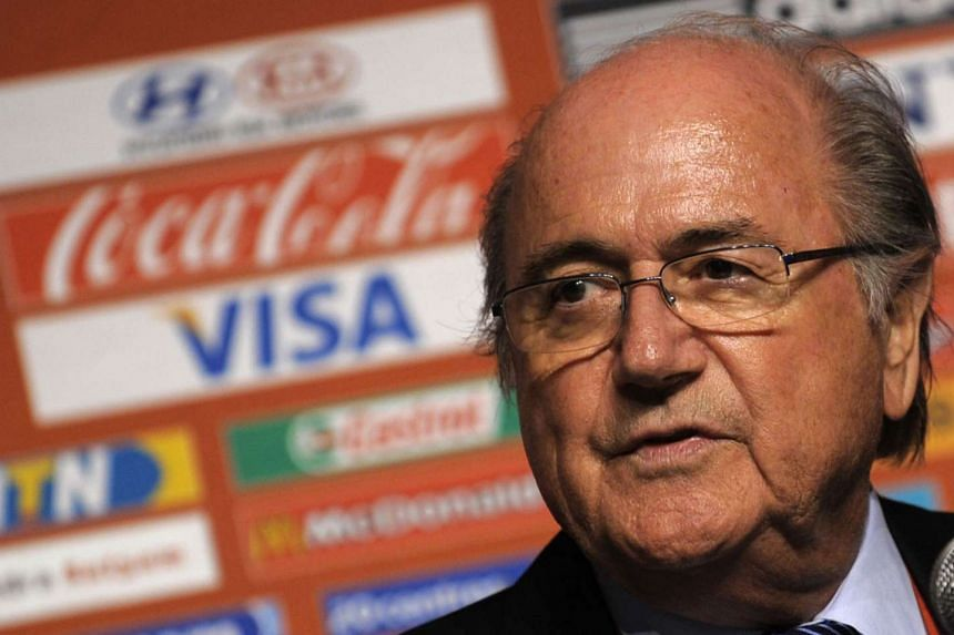 Can Fifa president Blatter (above) survive until his planned departure in February, after top sponsors called for him to quit now?