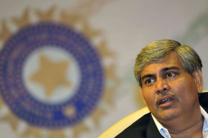 Shashank Manohar addressing a press conference at the BCCI's headquarters in Mumbai on April 26, 2010.