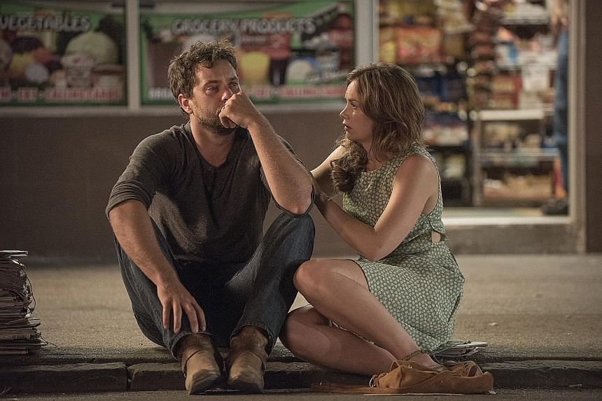 Ruth Wilson and Joshua Jackson in Season 1 of The Affair.